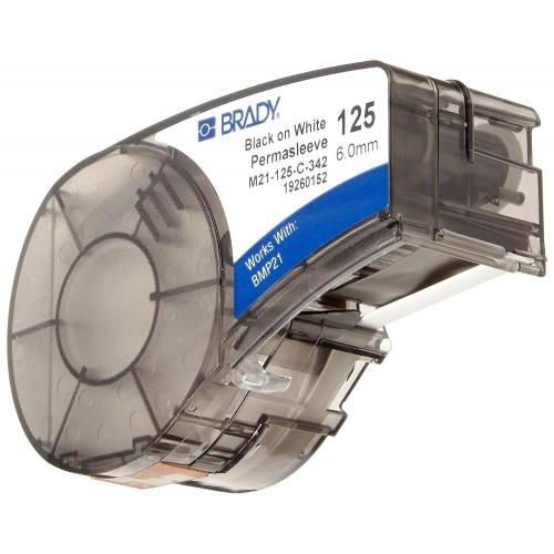 Banda continua termocontractibila Brady M21-125-C-342 6mm 2.1m