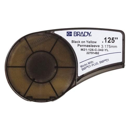 Banda continua termocontractibila Brady M21-125-C-342-YL 6mm 2.1m