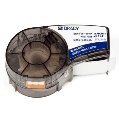 Banda continua vinil Brady M21-375-595-YL 9.53mm 6.4m