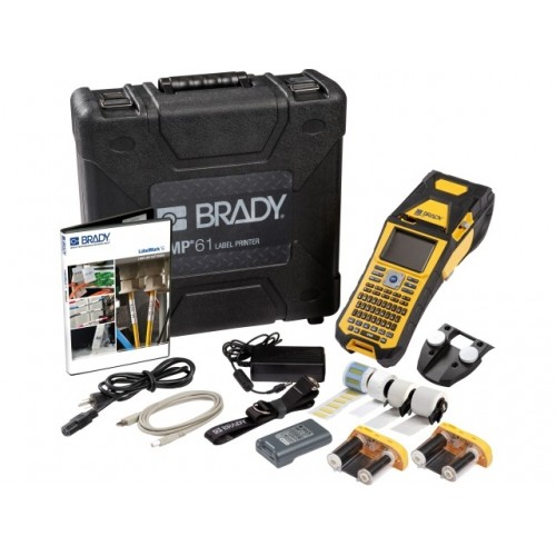 Aparat de etichetare Brady BMP61 Wi-Fi kit telecomunicatii