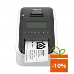 Imprimanta de etichete Brother QL-820NWB, 300DPI, Wi-Fi, auto-cutter