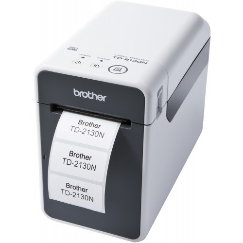 Imprimanta de etichete Brother TD-2130N 300DPI Ethernet cutter manual