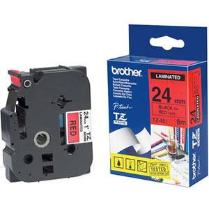 Banda continua laminata Brother TZE451 24mm 8m