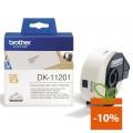 Banda de etichete Brother DK11201, 29x90mm, 400 et./rola