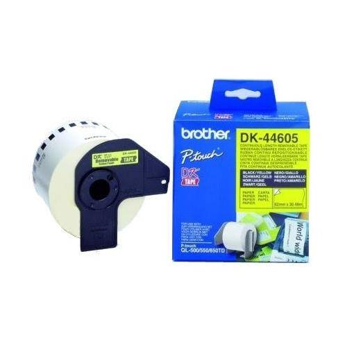 Banda continua removable Brother DK44605 62mm 30.48m