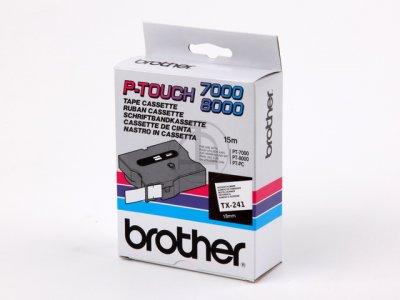 Banda continua laminata Brother TX241 18mm 15m