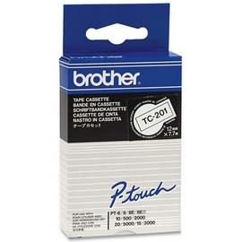 Banda continua laminata Brother TC201 12mm 5m