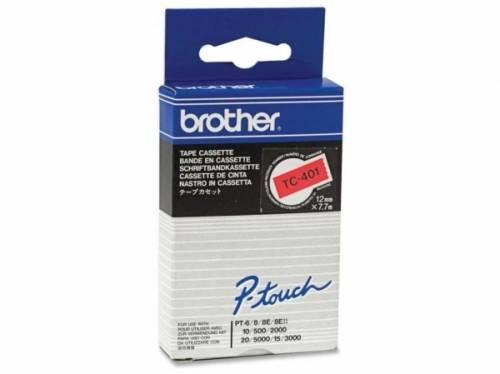 Banda continua laminata Brother TC401 12mm 5m