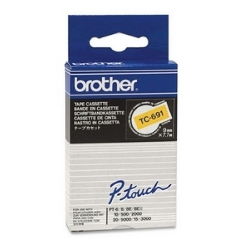 Banda continua laminata Brother TC691 9mm 5m