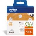 Banda de etichete Brother DK11221, 23x23mm, 1000 et./rola