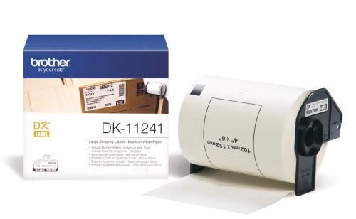 Banda de etichete Brother DK11241 102x152mm 200 et./rola
