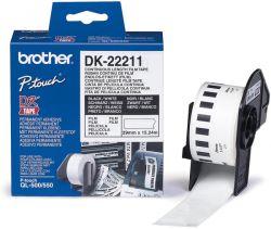 Banda continua laminata Brother DK22211 29mm 15 24m