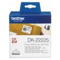 Banda continua hartie Brother DK22225, 38mm, 30.48m