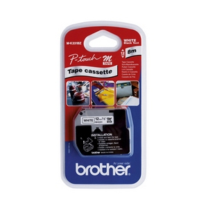 Banda continua laminata Brother MK231BZ 12mm 8m