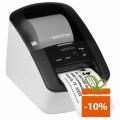 Imprimanta de etichete Brother QL-700, 300DPI, auto-cutter