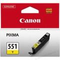 Cartus cerneala Canon CLI-551Y, galben