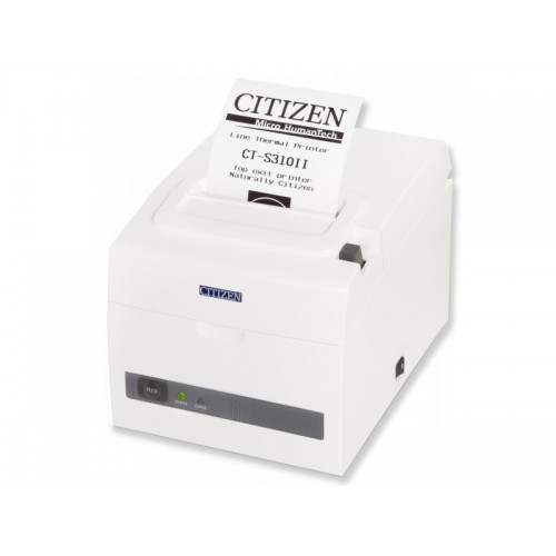 Imprimanta termica Citizen CT-S310 II USB + RS232 alba