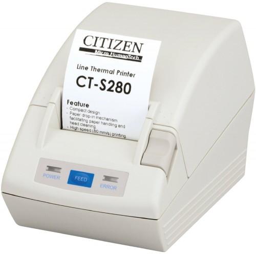 Imprimanta termica Citizen CT-S280 serial alb