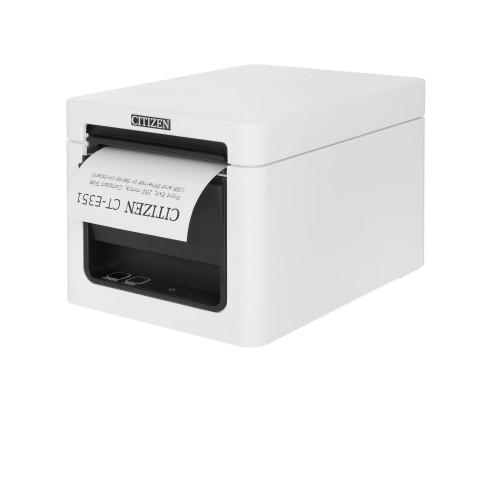 Imprimanta termica Citizen CT-E351 USB + LAN alba