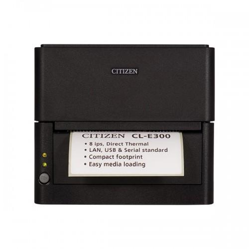 Imprimanta de etichete Citizen CL-E300 203DPI Ethernet neagra
