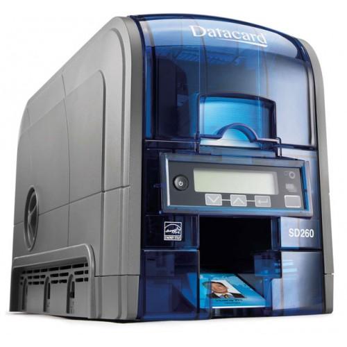 Imprimanta de carduri Datacard SD260 single side rewrite MSR Ethernet