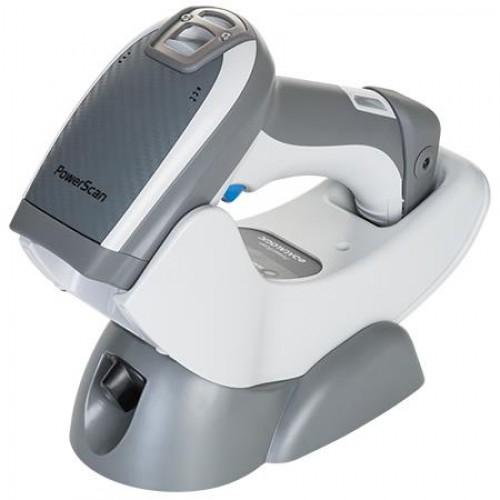 Cititor coduri de bare Datalogic PowerScan PBT9500-RT 2D Bluetooth serial cradle alb