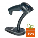 Cititor coduri de bare Datalogic QuickScan QD2430, USB, stand, negru