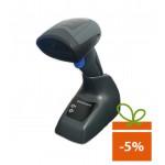 Cititor coduri de bare Datalogic QuickScan QM2131, 1D, USB, alimentator, cradle, negru