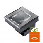 Cititor coduri de bare Datalogic Magellan 3300HSi, 2D, USB, kit, gri