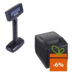 Imprimanta fiscala Datecs FP800, afisaj