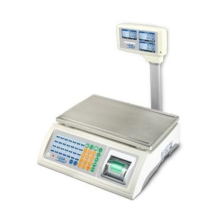 Cantar numarator Dini Argeo ASGPP 6/15 kg imprimanta