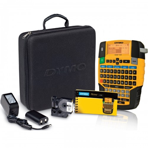 Aparat de etichetare Dymo Rhino 4200 Kit DY1852998 QWERTY