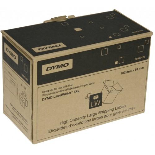Etichete pentru adrese Dymo LabelWriter DY947420 102x59mm hartie alba