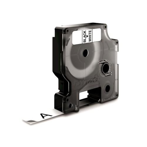 Banda laminata Dymo D1 DY53713 24mm Negru/Alb