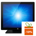 Monitor POS touchscreen ELO Touch 1517L, IntelliTouch, ZeroBezel, negru