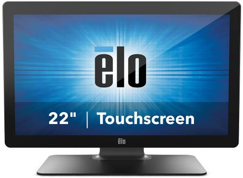 Monitor POS touchscreen Elo Touch 2202L Projected Capacitive ZeroBezel negru