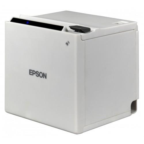 Imprimanta termica Epson TM-m30 Ethernet cutter alba