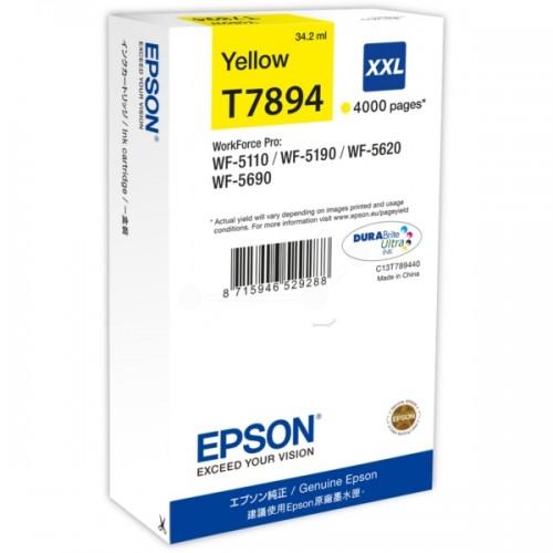 Cartus cerneala Epson T7894 XXL galben