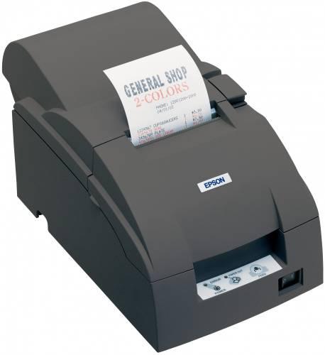 Imprimanta matriciala Epson TM-U220A serial cutter neagra
