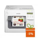 Imprimanta de etichete color Epson ColorWorks C3500, Ethernet, auto-cutter
