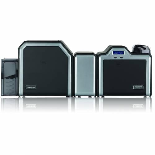 Imprimanta de carduri HID Fargo HDP5000 dual side laminare dual side Ethernet LCD
