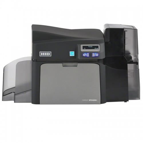 Imprimanta de carduri HID Fargo DTC4250e single side Ethernet LCD suport suplimentar