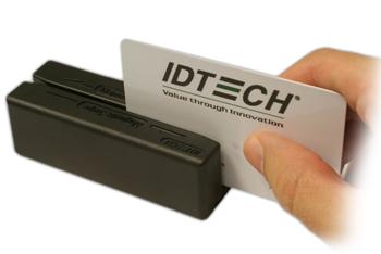 Cititor de carduri magnetice IDTECH MiniMagII USB/KB