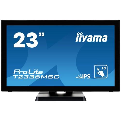 "Monitor touchscreen iiyama ProLite T2336MSC 23"" PCAP negru"