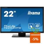 "Monitor touchscreen iiyama ProLite T2253MTS-B1, 21.5"", negru"