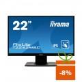 "Monitor touchscreen iiyama ProLite T2252MSC, 22"", PCAP, IPS, negru"