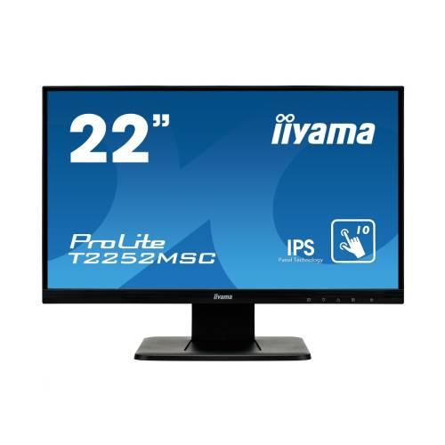 "Monitor touchscreen iiyama ProLite T2252MSC 22"" PCAP IPS negru"