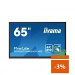 "Monitor touchscreen iiyama ProLite TE6503MIS-B1AG, 65"", 4K, infrared, negru"