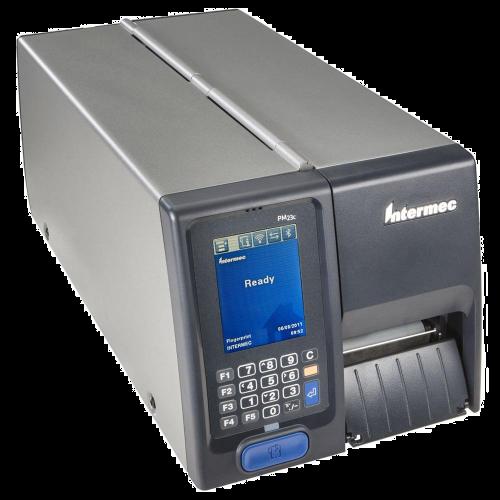 Imprimanta de etichete Honeywell PM43C 203DPI rewinder peeler