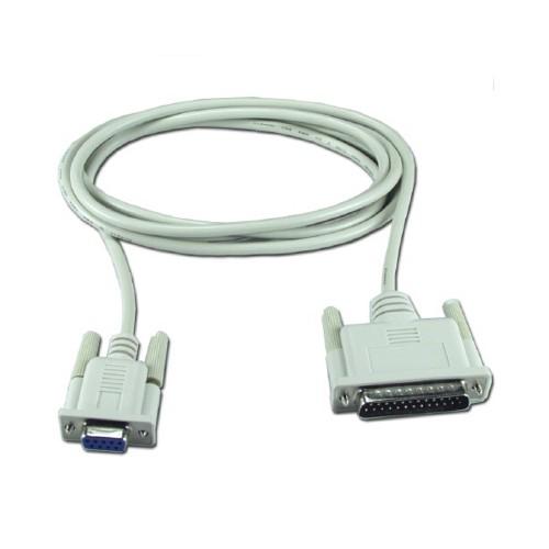 Cablu imprimanta serial (DB9M-DB25T) 1.8m